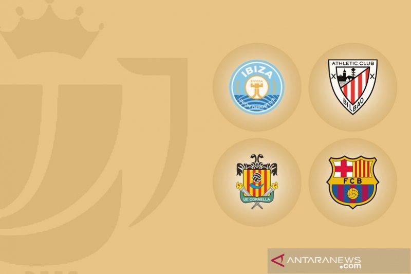 Barcelona dan Bilbao masuk 16 besar Copa del Rey