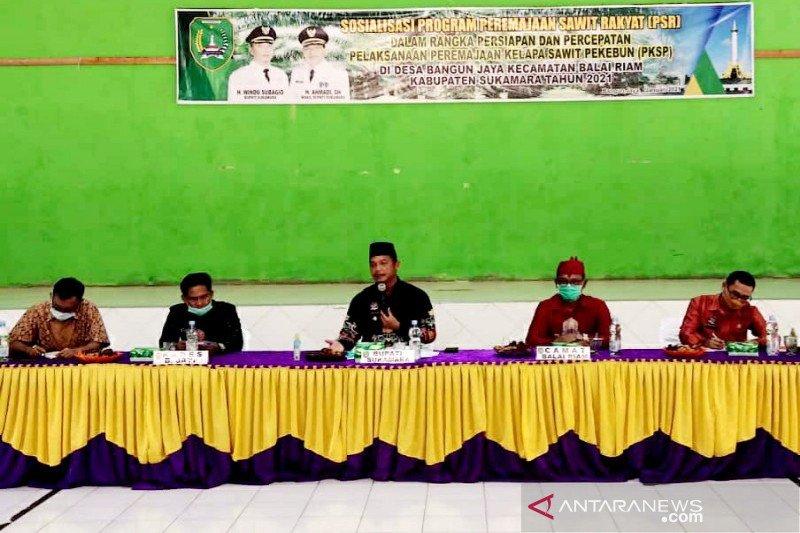 Pemkab Sukamara apresiasi adanya Program PSR