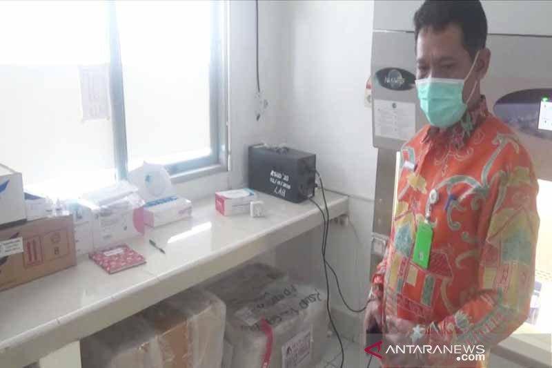 Pemkab Kapuas telah terima bantuan mesin PCR dari BNPB