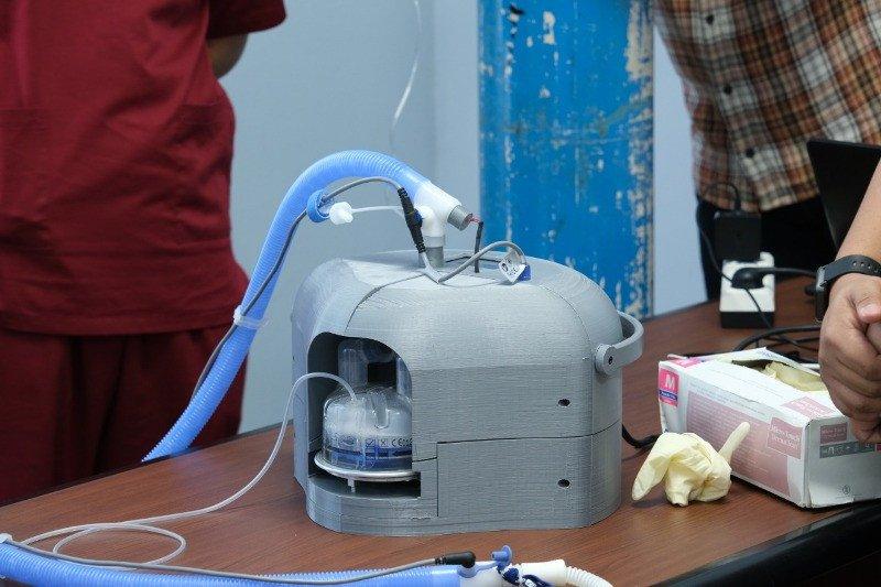 Tim UI kembangkan alat bantu pernafasan HFNC untuk pasien COVID-19