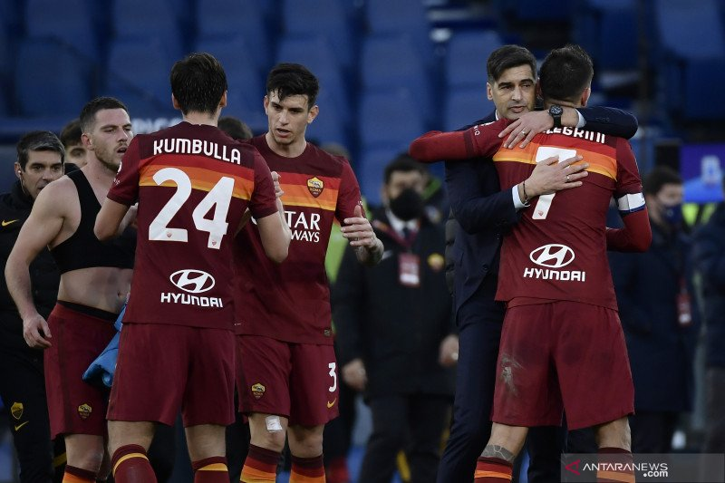 AS Roma menundukkan Spezia 4-3