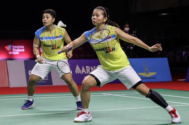 Faktor penyebab kekalahan Greysia/Apriyani di Thailand Open II