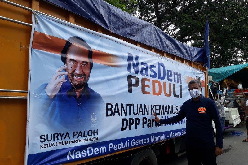 NasDem Sulteng  salurkan bantuan untuk penyintas gempa terisolir