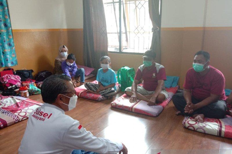Pemprov Sulsel pulangkan tujuh pengungsi gempa Sulbar tujuan Kaltim