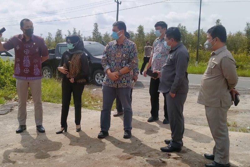 Ketua DPRD Kalteng minta Pemerintah Pusat buka akses jalan baru Pulpis-Gumas