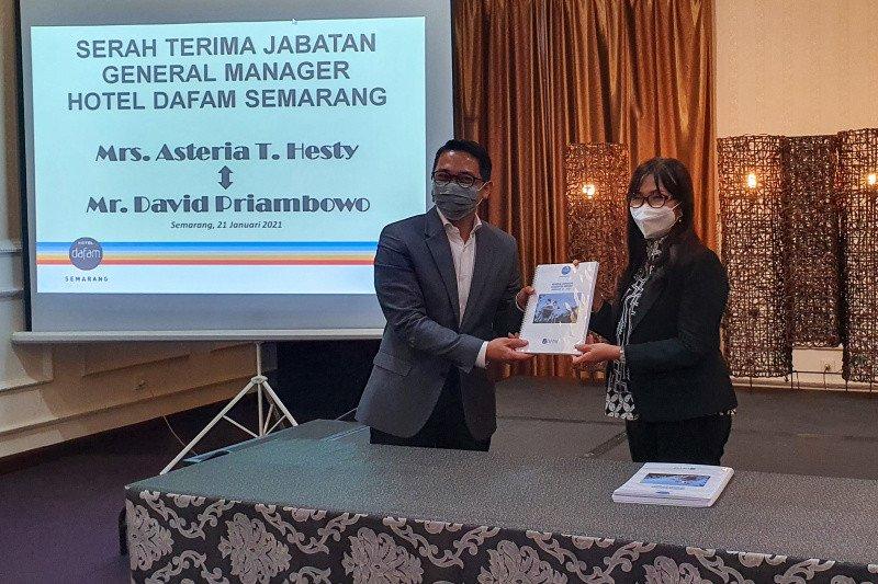 David Priambowo jabat GM Hotel Dafam Semarang