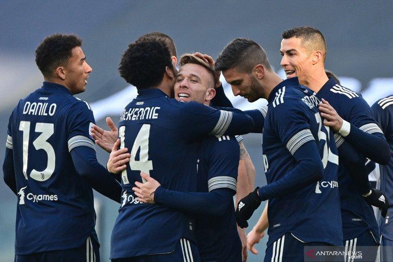 Liga Italia: Juventus masuk ke empat besar setelah kalahkan Bologna 2-0