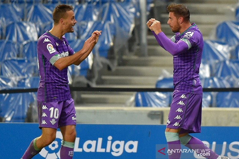 Diimbangi Real Betis 2-2, Sociedad buang keunggulan dua golnya