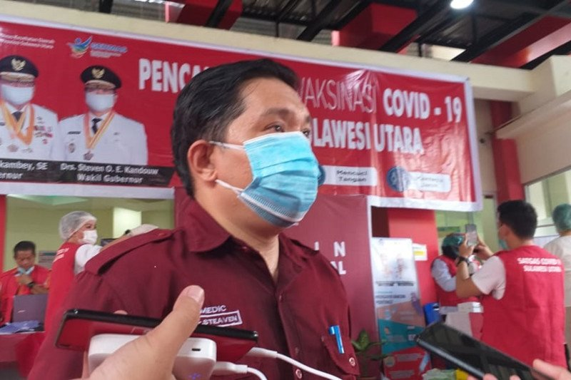 Lonjakan COVID-19 di Sulut ciptakan rekor terbanyak 241 kasus
