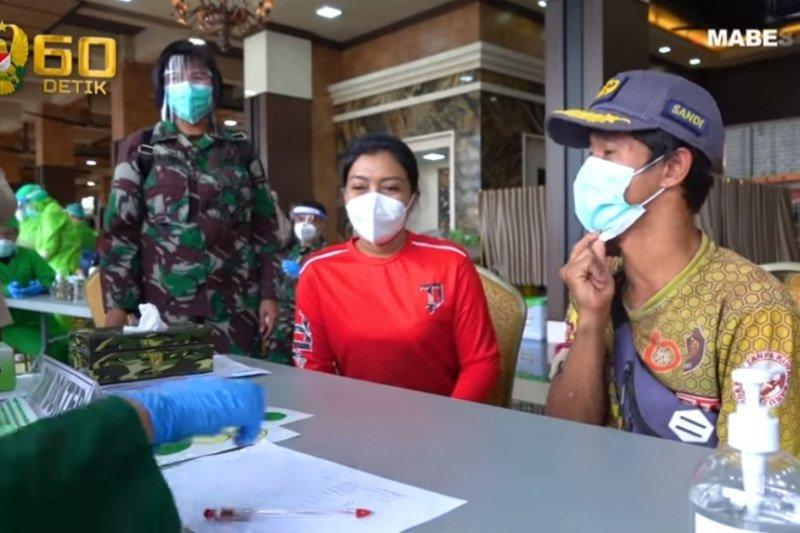 Kasad dan Persit KCK gelar vaksinasi flu untuk keluarga TNI AD