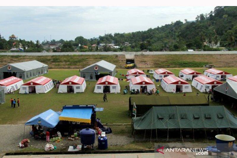 Pengungsi korban gempa bumi Sulbar