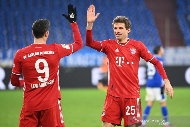 Liga Jerman: Bayern maksimalkan tergelincirnya dua pesaing