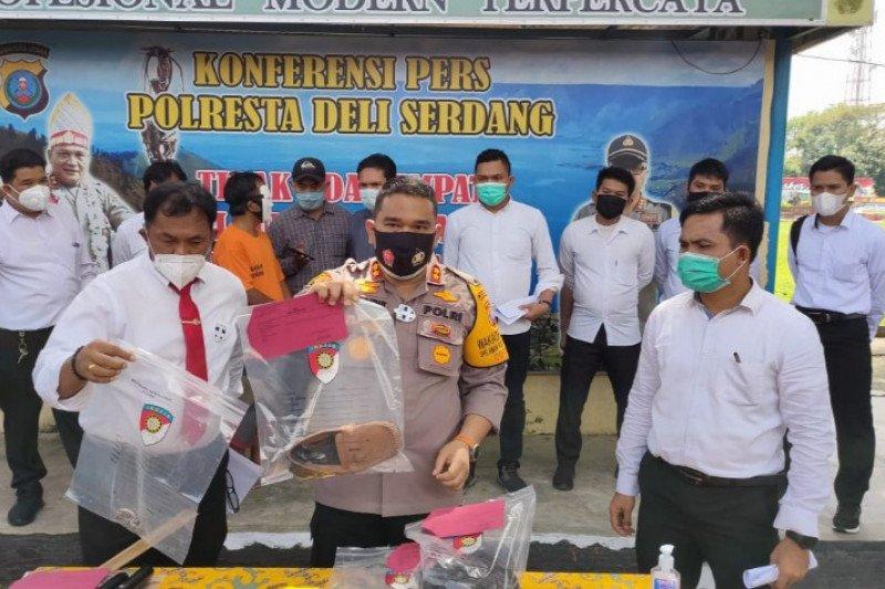 Polisi tangkap pembunuh petani yang jenazahnya dibakar