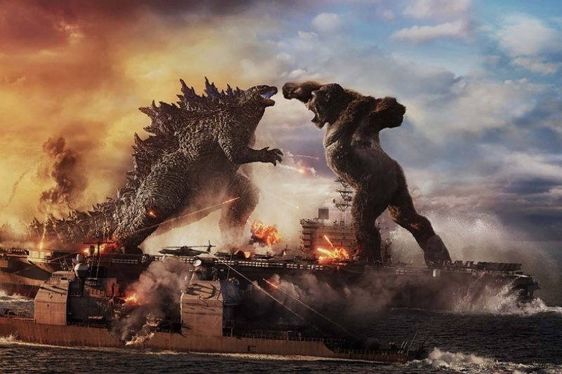 'Godzilla vs Kong' suguhkan pertarungan intens dua monster