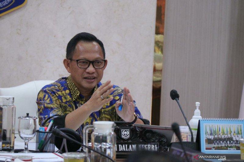 Mendagri Tito apresiasi Menkes gunakan data KPU untuk program vaksinasi