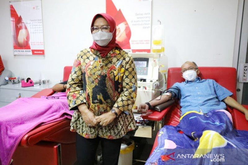Bupati ajak penyintas COVID-19 di Bogor donor plasma konvalesen
