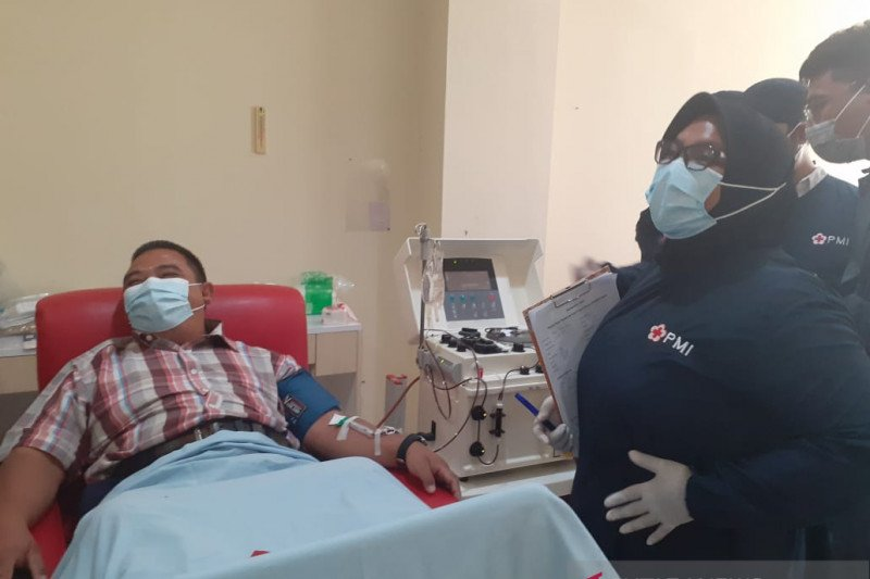 Tiga warga Batam penyintas COVID-19 donor plasma konvalesen