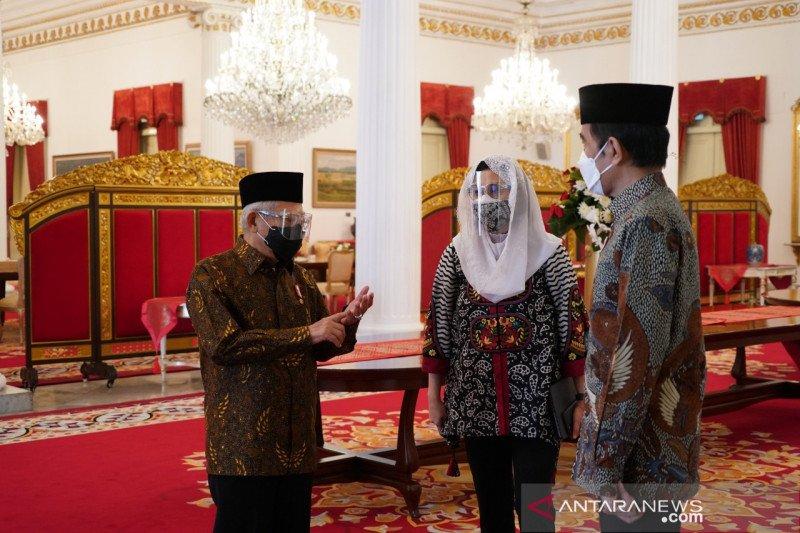 Jokowi: Pemanfaatan wakaf untuk atasi kemiskinan
