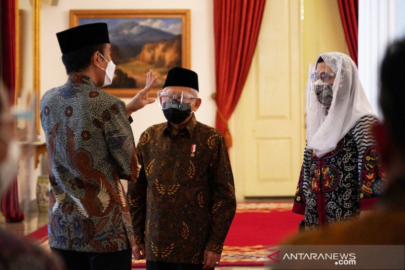 Presiden Joko Widodo  sambut baik peresmian Brand Ekonomi Syariah