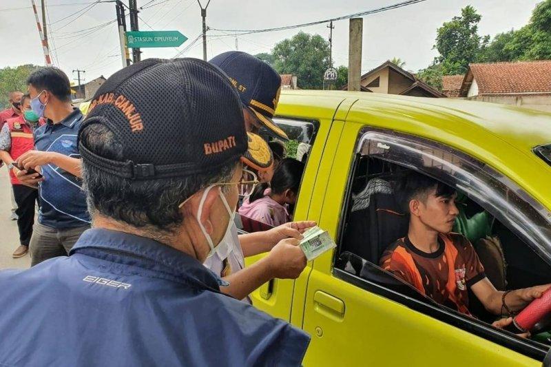 Polres Cianjur tingkatkan pemeriksaan kendaraan dari luar kota