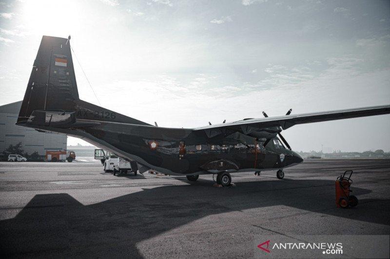 PT DI serahkan pesawat terbang NC212i untuk TNI AU