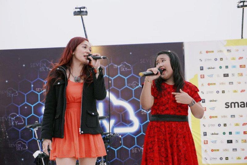 Penyanyi cilik kobarkan semangat berbagi lewat konser amal bencana Sulbar