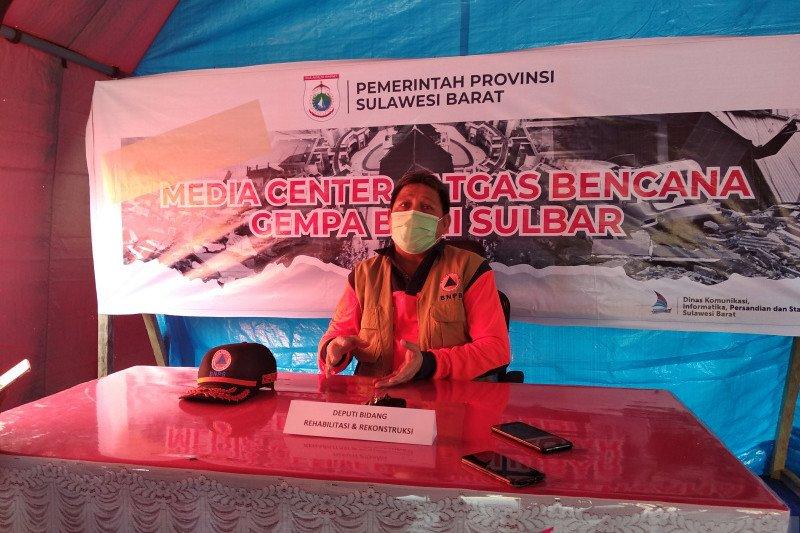 BNPB targetkan penyelesaian dampak gempa Sulbar selesai dalam enam bulan