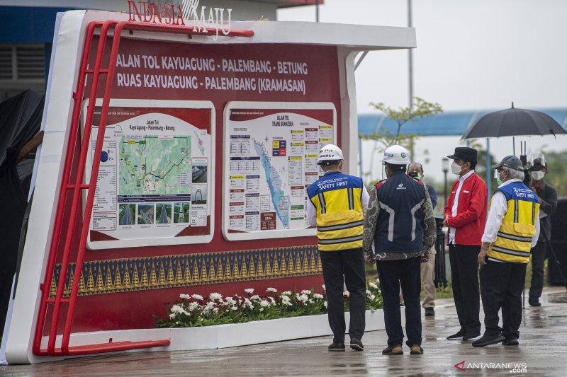 Presiden Resmikan Tol Palembang-Kayu Agung
