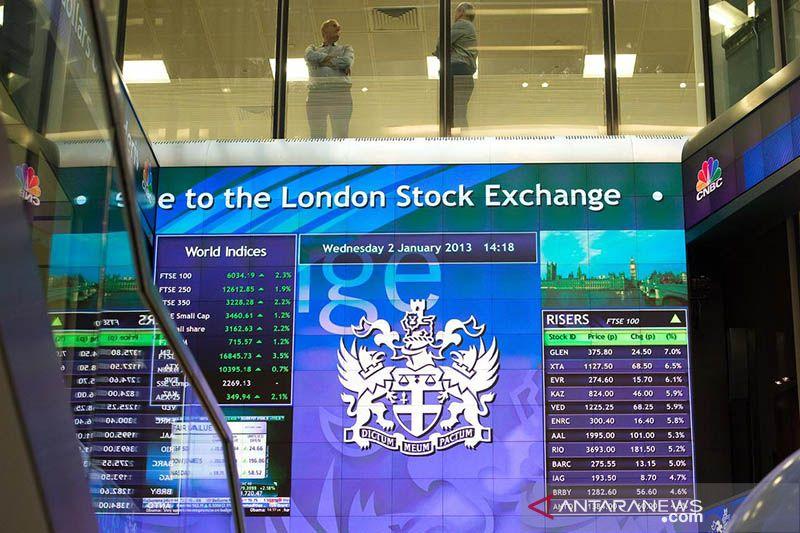 Saham Inggris berakhir melemah, indeks FTSE 100 terpangkas 0,18 persen