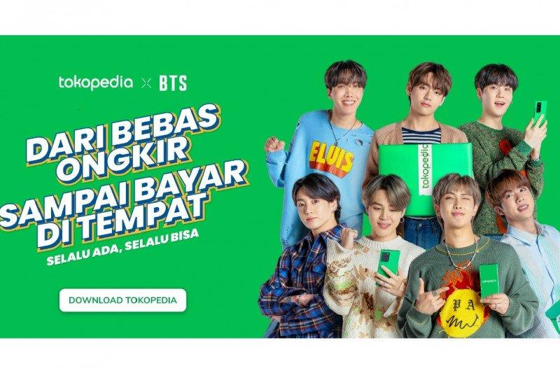 Tokopedia tunjuk grup Korea BTS dan Blackpink jadi duta merek