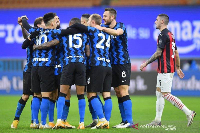 Piala Italia - Inter singkirkan Milan melalui kemenangan dramatis