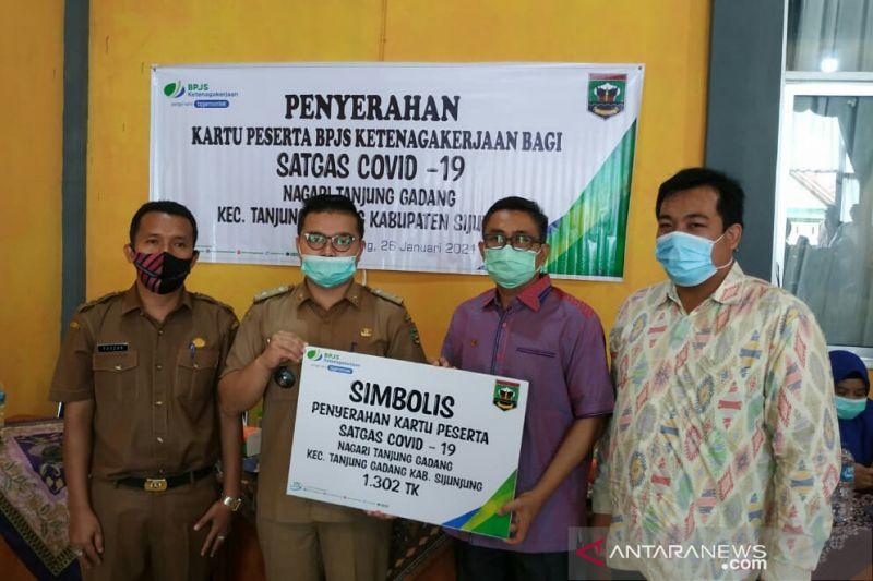 1.302 satgas COVID-19 Tanjung Gadang dilindungi BPJAMSOSTEK