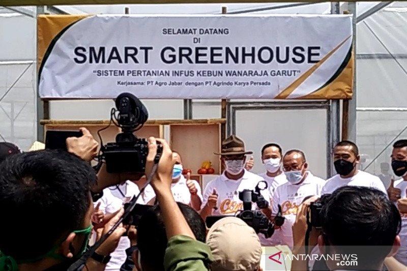 Sektor pertanian tidak lagi konvensional, inilah harapan Ridwan Kamil ditahun 2021