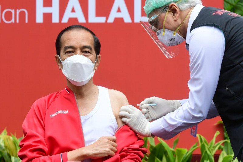 Presiden hingga Raffi Ahmad tak rasakan sakit saat divaksin