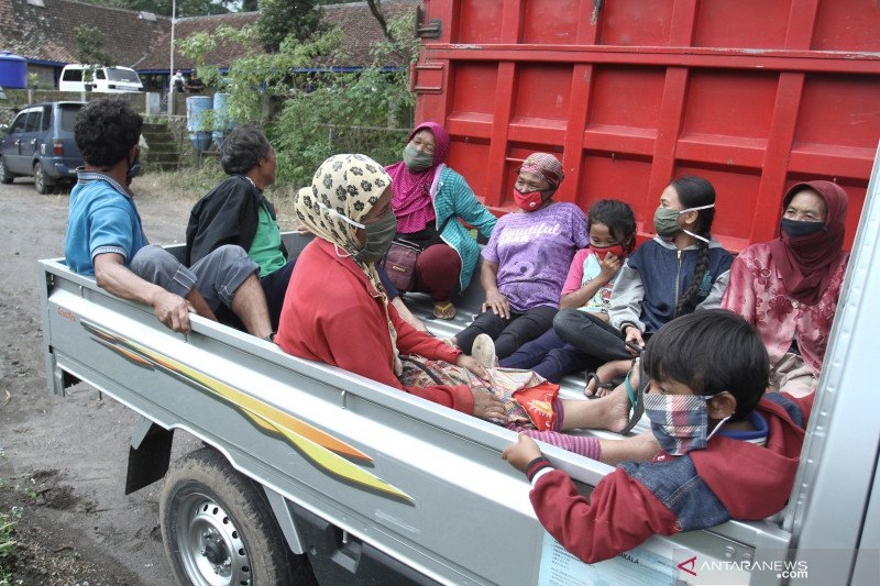 Warga lereng Merapi sudah siap jika terjadi banjir lahar