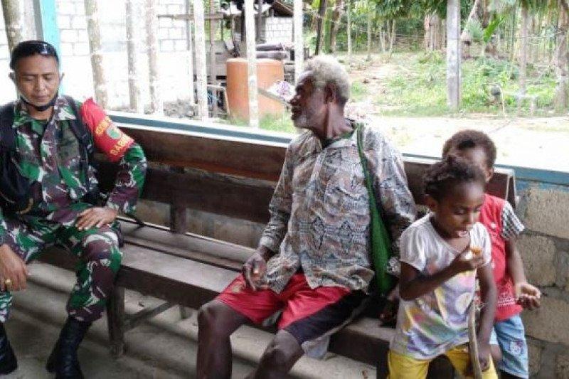 Babinsa Koya Timur gelar komsos dengan warga binaan