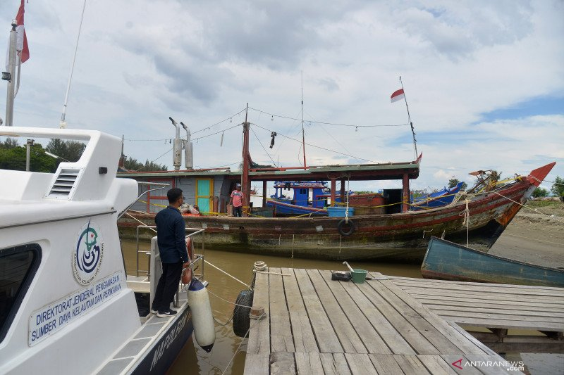 "KKP tangkap 82 unit kapal terlibat ""illegal fishing"" sepanjang 2021"