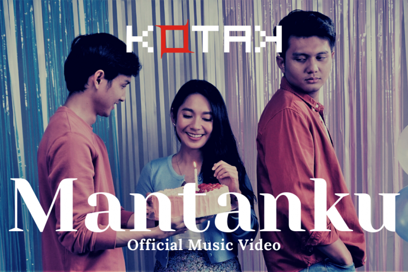 Band Kotak rilis video musik