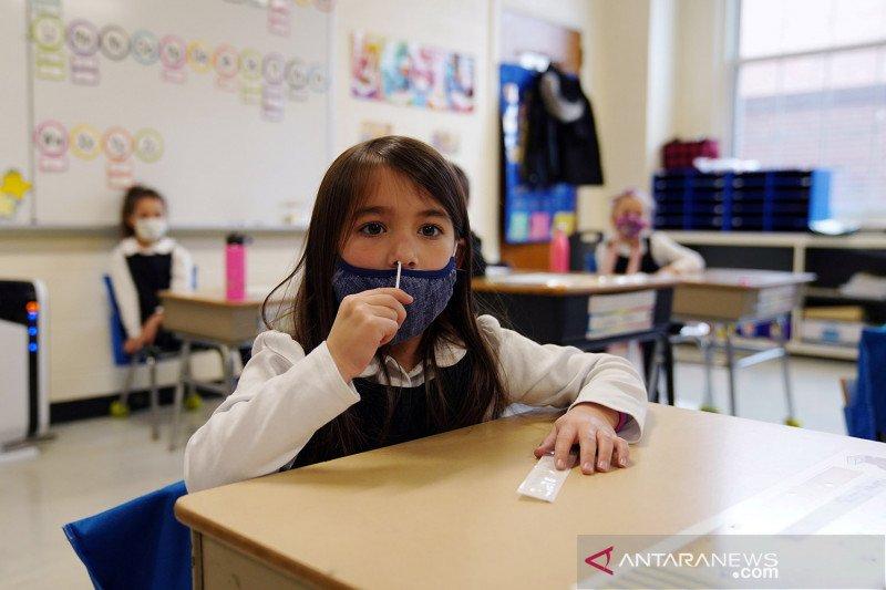 Sekolah di AS wajib gunakan masker