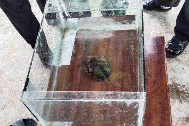 Peneliti Itera pastikan  batu jatuh di Lampung Tengah adalah meteor