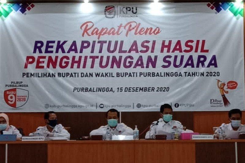 KPU Purbalingga apresiasi tingginya partisipasi pemilih capai 73,26 persen