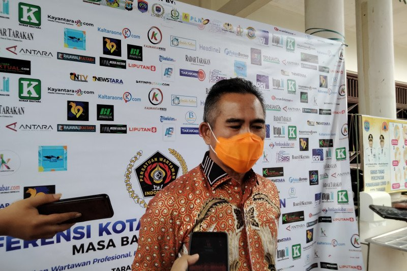 Wali Kota Tarakan dukung vaksinasi COVID-19 untuk wartawan