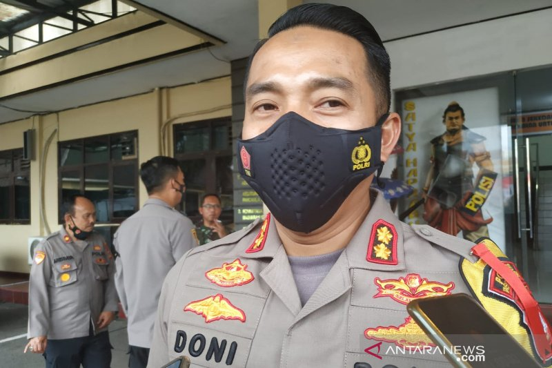 Polresta Tasikmalaya siagakan personel pengamanan saat pelaksanaan vaksinasi