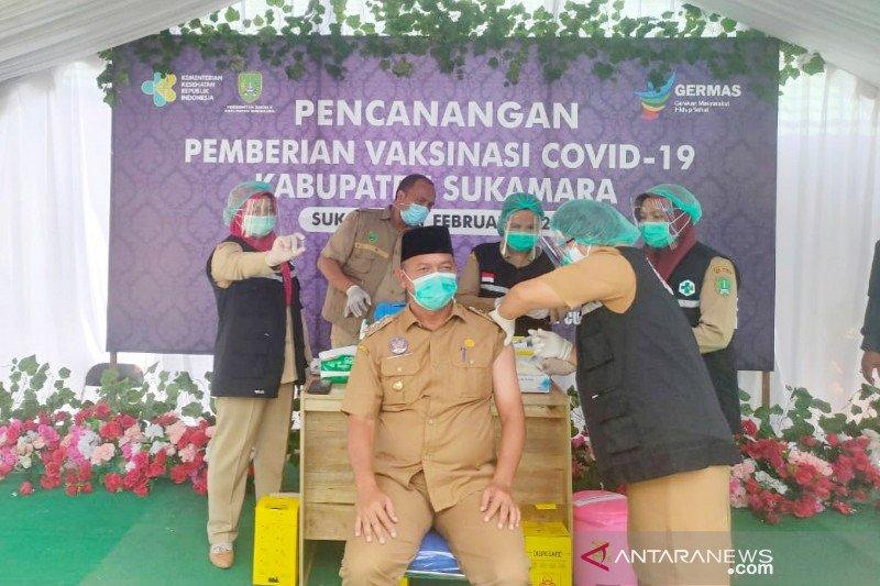 Vaksinasi COVID-19 mulai dilaksanakan di Sukamara
