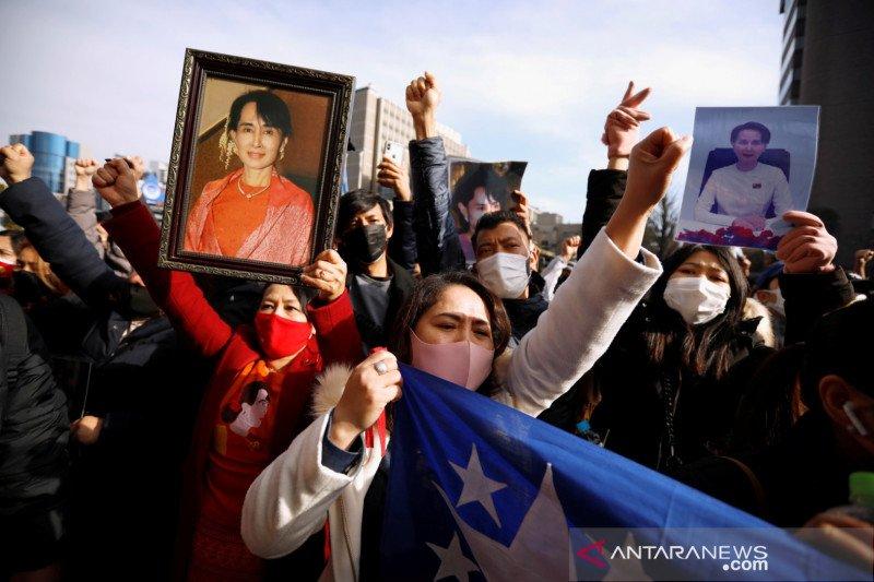 Jepang pertimbangkan respons terhadap kudeta  Myanmar