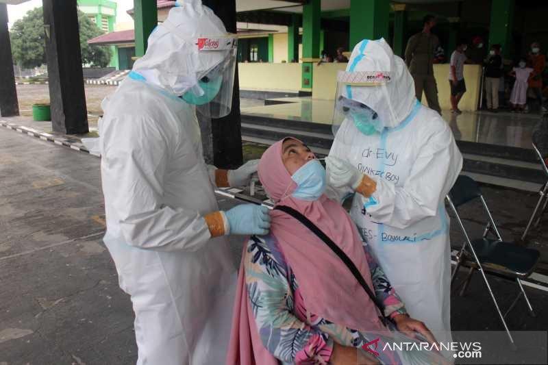 Pulang wisata dari Bali,  193 warga Boyolali dites cepat antigen