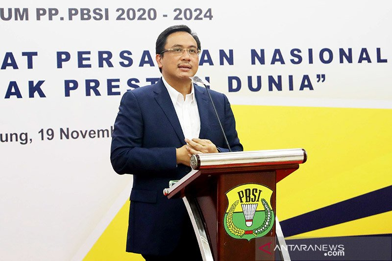 Ketua umum PBSI ingin gelar turnamen bulutangkis  Piala Presiden