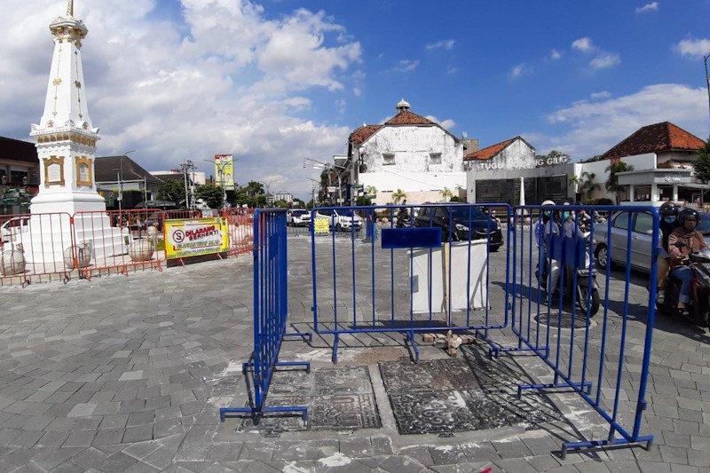 DPRD Yogyakarta menyoroti hasil revitalisasi kawasan Tugu mulai rusak