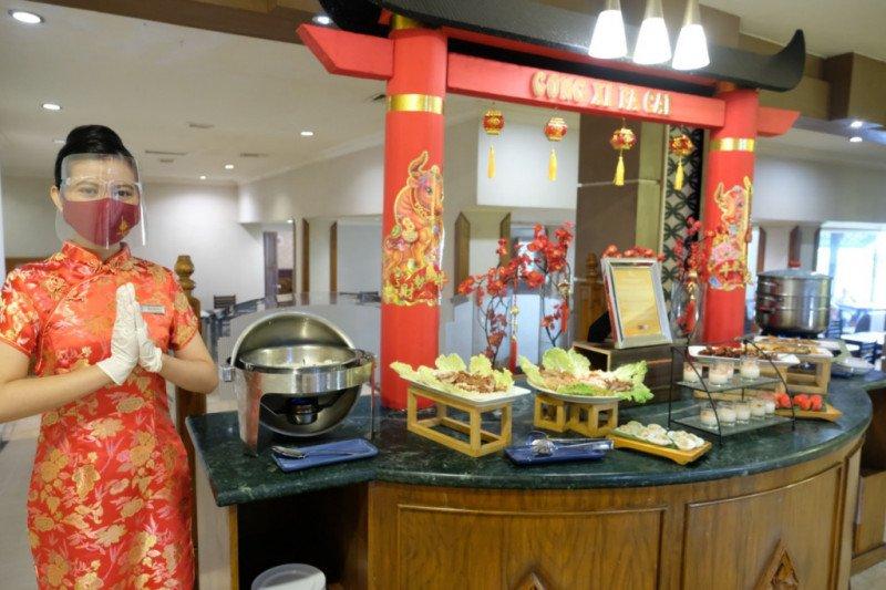 """""""Chinese Corner"""" menu andalan di Grand Inna Malioboro saat sarapan pagi"""