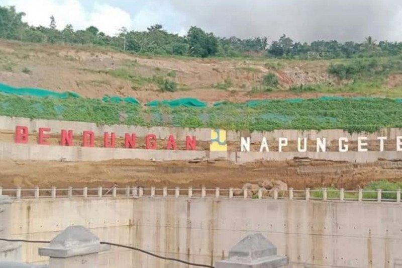 Pembangunan Bendungan Napun Gete sudah rampung